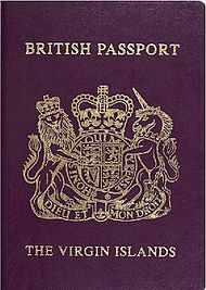 British Virgin Islands passport