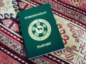 Turkmenistan passport