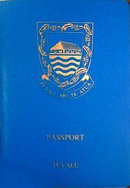 Tuvalu passport